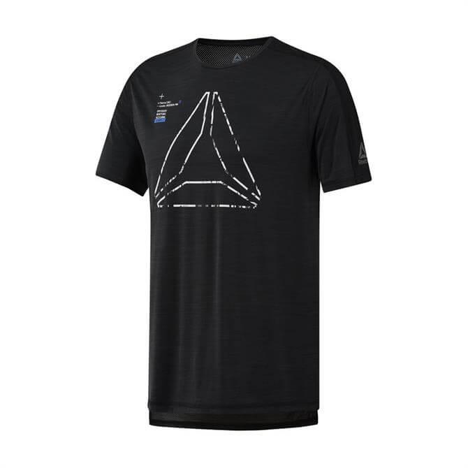 Reebok Men's Training ActivChill Graphic T-Shirt - Black