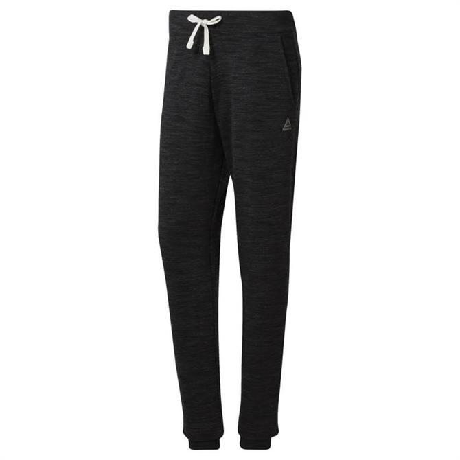 Reebok Women's Training Essentials Marble Sweatpants - Black