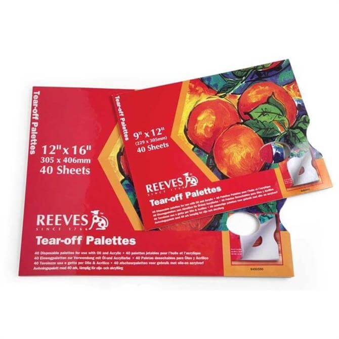 Reeves Acrylic Tear-Off Palette