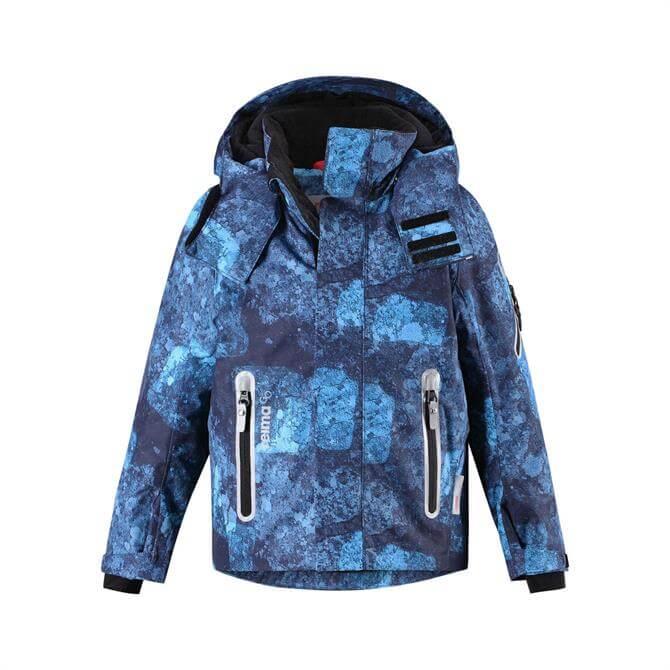 Reima Tec Kid's Winter Regor Jacket- Navy