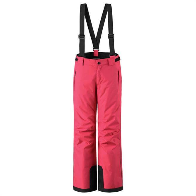 Reima Kid's Takeoff Ski Pants- Strawberry Red
