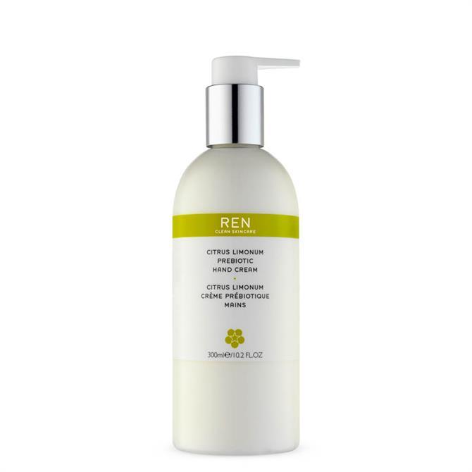 REN Citrus Limonum Prebiotic Hand Cream 300ml