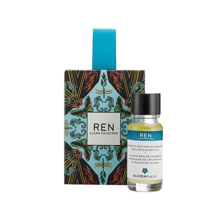 REN Stocking Filler - Atlantic Kelp & Microalgae Anti-Fatigue Bath Oil 10ml