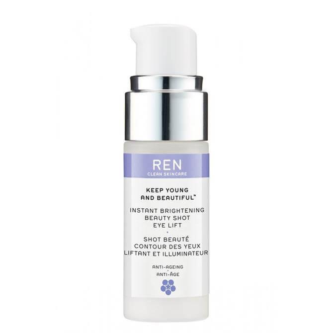 REN Keep Young and Beautiful Instant Brightening Beauty Shot Eye Lift 15ml