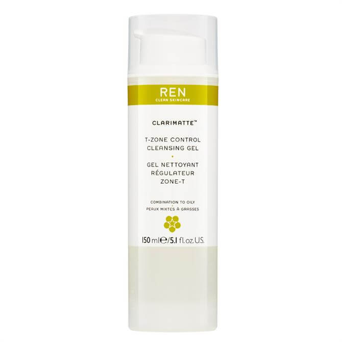 REN Clarimatte T Zone Control Cleansing Gel 150ml