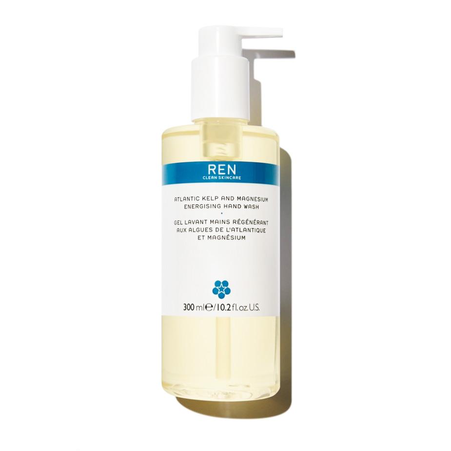 An image of REN Atlantic Kelp and Magnesium Energising Hand Wash 300ml