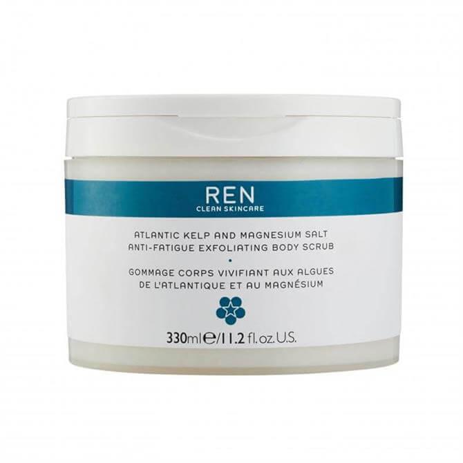 REN Atlantic Kelp and Magnesium Salt Anti-Fatigue Exfoliating Body Scrub 330ml