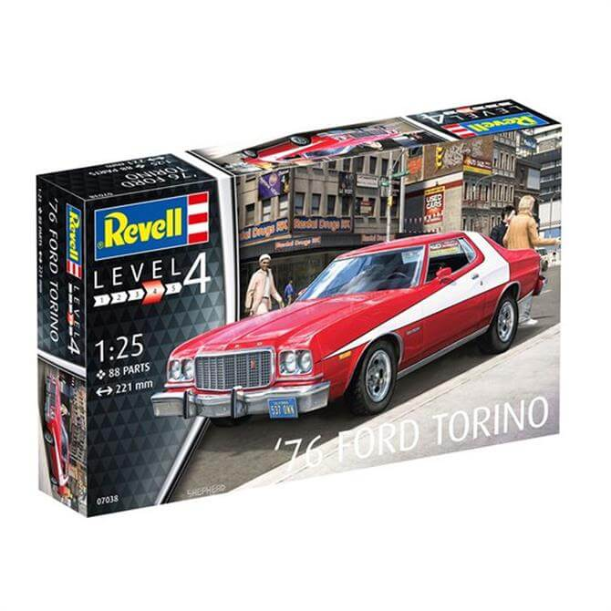 Revell Ford Torino 76 1:25 Car Model Kit