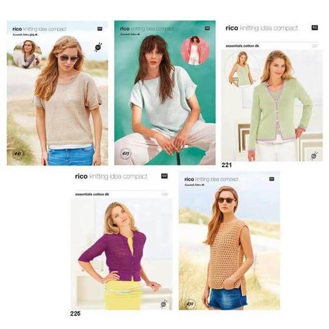 Rico Designs Knitting Idea Compact Pattern