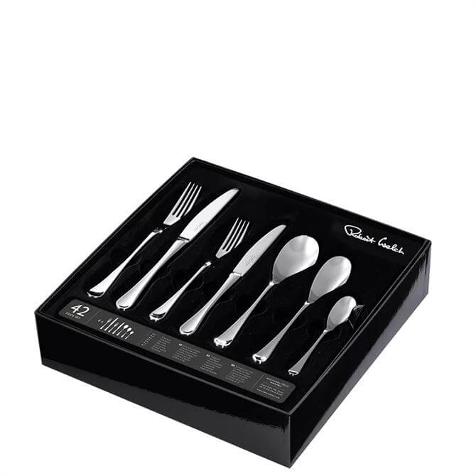 Robert Welch RW2 Satin Cutlery 42 Piece Set