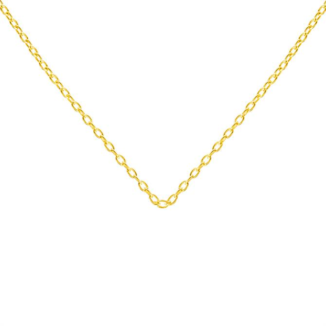 Rodgers & Rodgers 18ct Gold Vermeil Monogrammed Chain