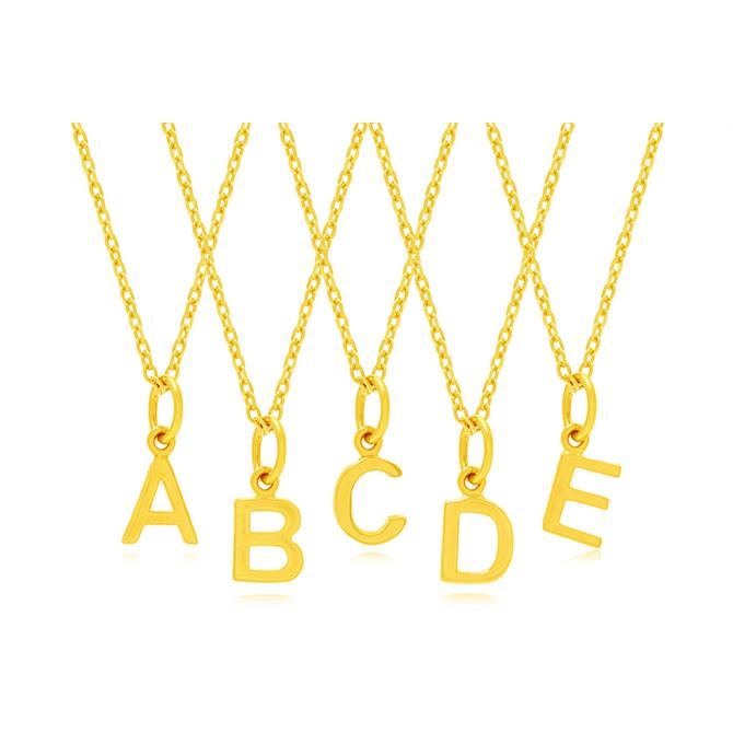 Rodgers & Rodgers Golden Letter Charms