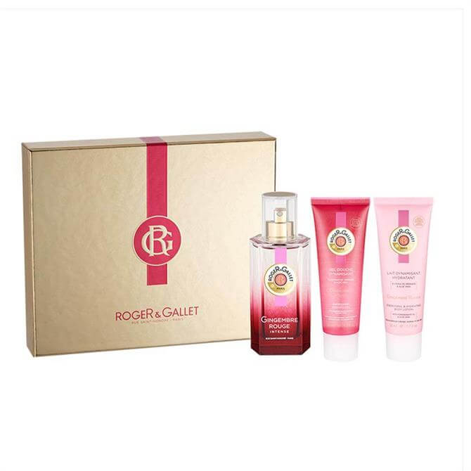 Roger & Gallet Gingembre Rouge Intense Eau De Parfum Set