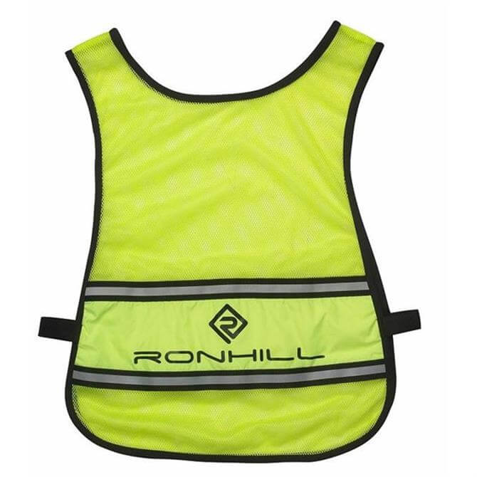 Ronhill Vizion Reflective Bib - Fluorescent Yellow