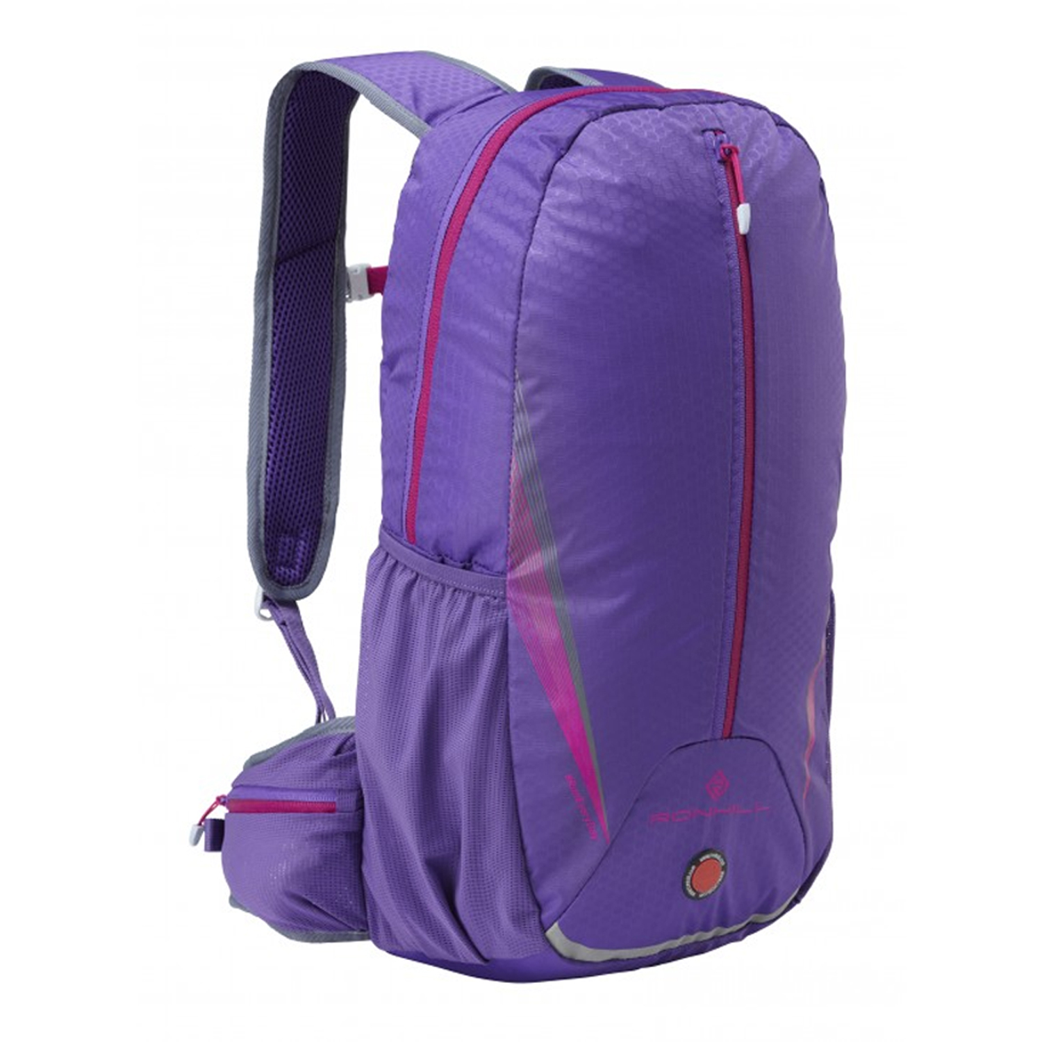 An image of Ronhill Commuter 15L Pack - One Size, ROYAL PURPLE/FUSCHIA