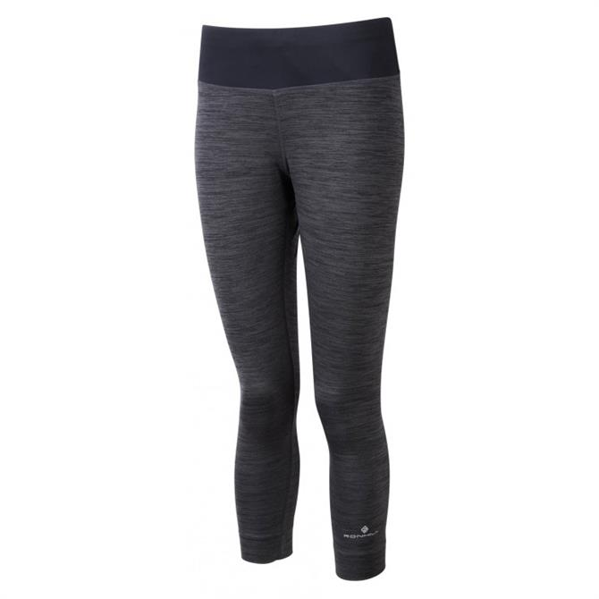 Ronhill Women's Momentum Workout Crop Tight - Charcoal