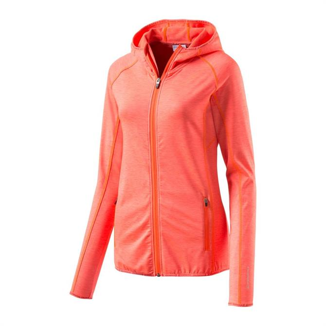 Energetics Women's Funda 5  Hooded Fitness Jacket - Red Light