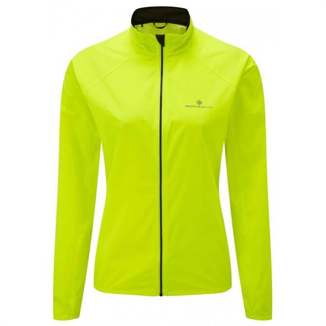 Ronhill Women's Everyday Running Jacket- Fluo Yellow