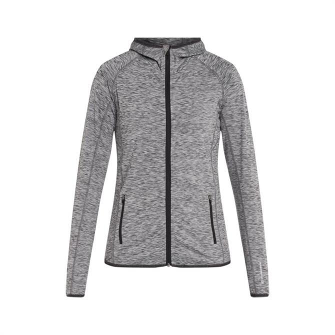 Energetics Women's Funda 5 Hooded Fitness Jacket - Grey