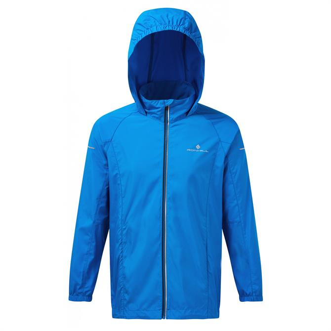 Ronhill Junior Everyday Running Jacket- Electric Blue