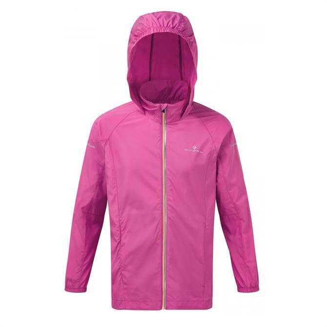 Ronhill Junior Everyday Running Jacket- Razzmataz