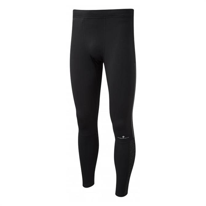 Ronhill Men's Momentum Afterlight Running Tight- All Black