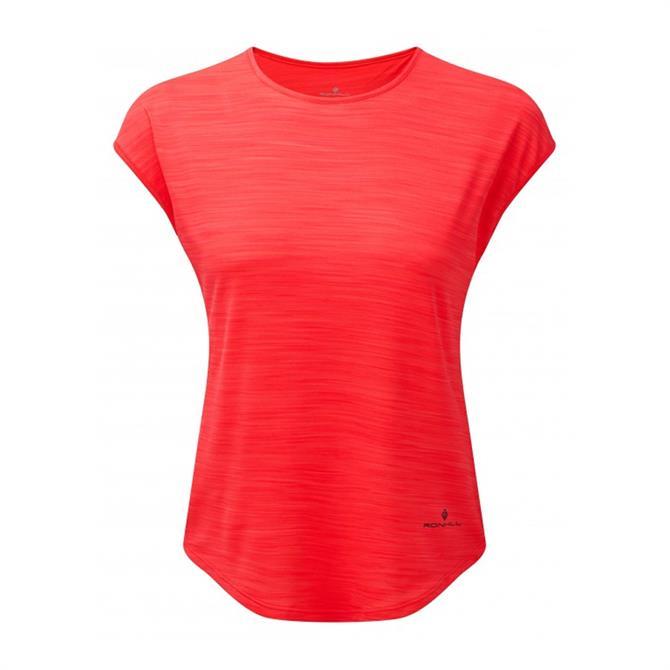Ronhill Women's Infinity Air-Dry Short Sleeve Running Top – Hot Pink