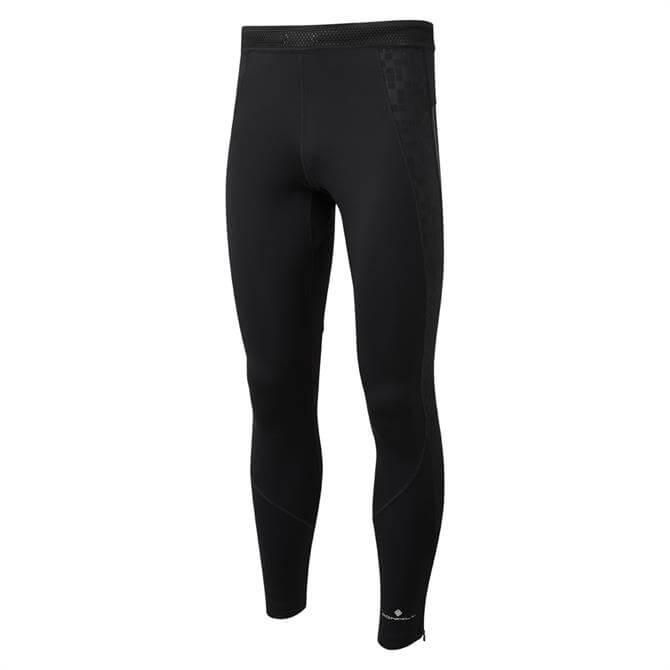 Ronhill Men's Stride Stretch Running Tight - All Black