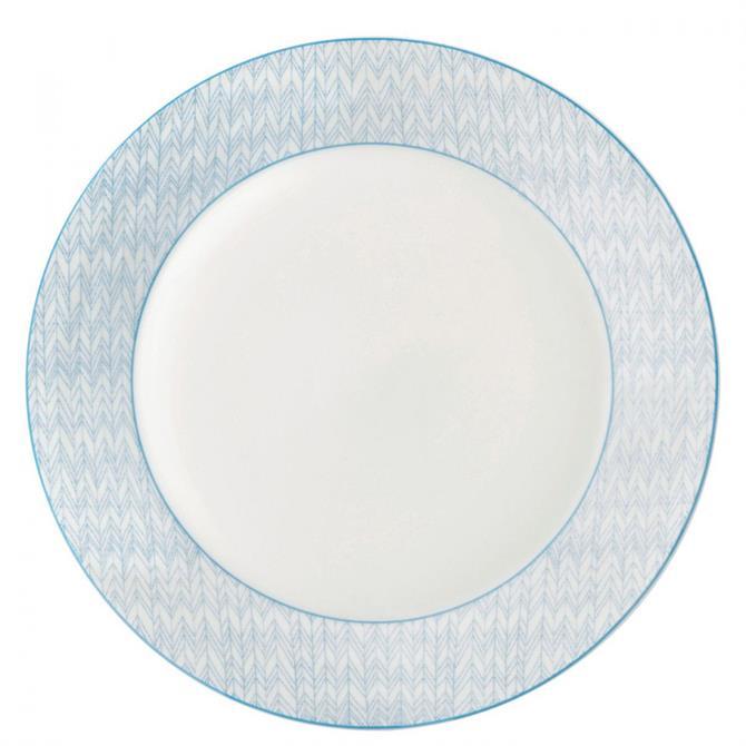 Royal Doulton Pastels Herringbone 28cm Plate