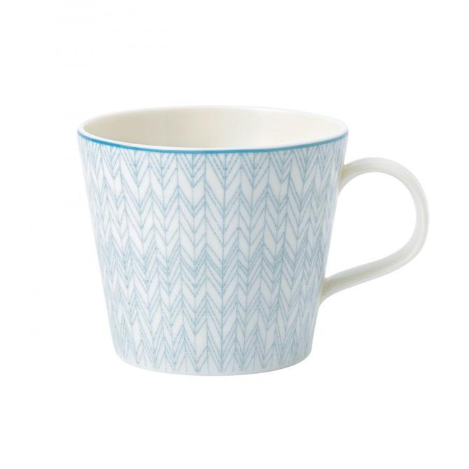 Royal Doulton Pastels Herringbone Mug