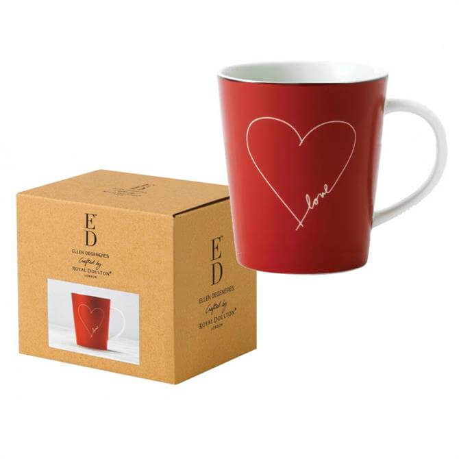 Royal Doulton Ellen DeGeneres Signature Love Mug