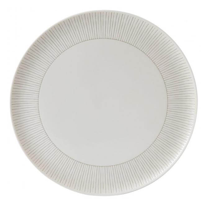 Royal Doulton Ellen DeGeneres Taupe Stripe Serving Platter 32 cms