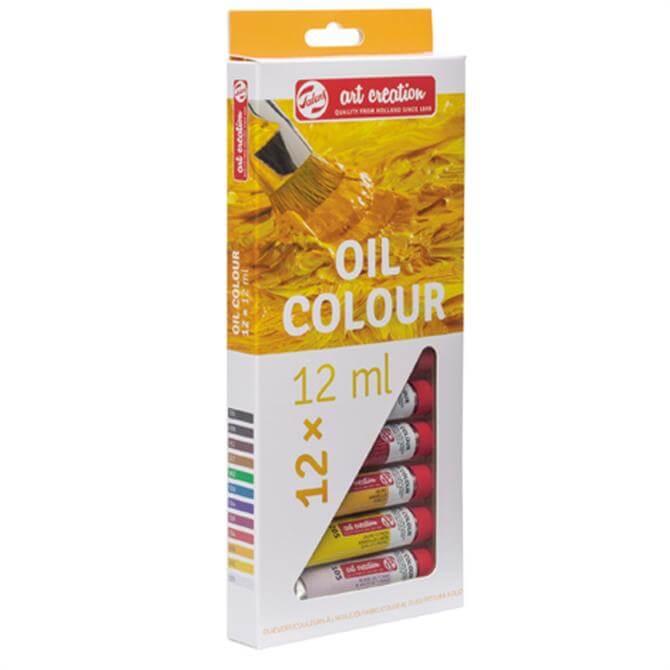 Royal Talens Art Creation oil colour set 12x 12 ml