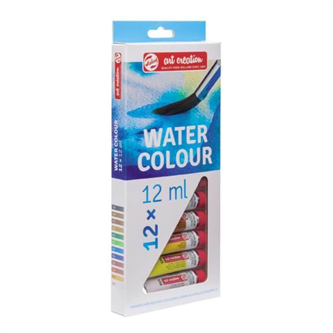 Royal Talens Art Creation Water Colour Paints 12x12ml Set