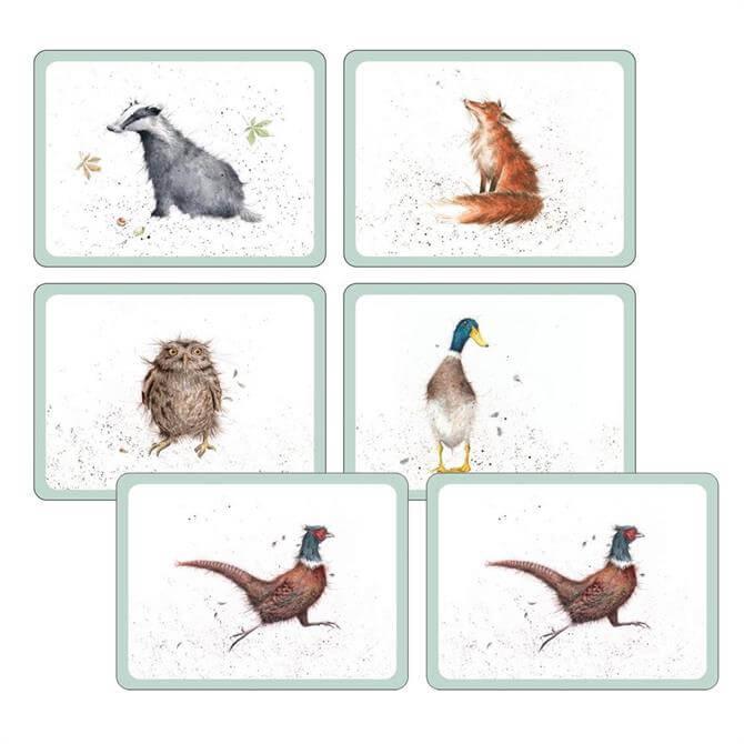 Pimpernel Wrendale Placemats: Set of 6