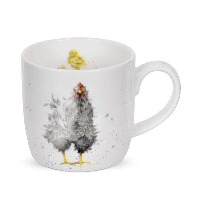 Portmeirion Wrendale Curious Hen Mug
