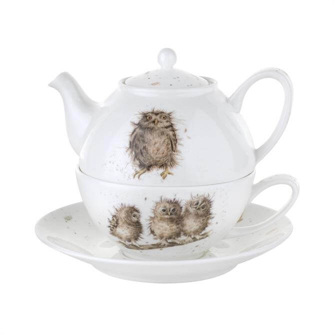 Portmeirion Wrendale Tea For One With Saucer