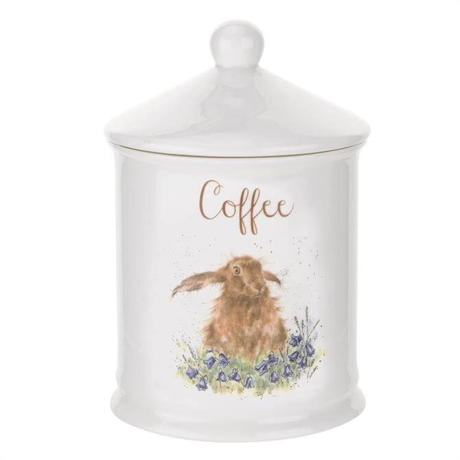 Royal Worcester Wrendale Hare Coffee Jar