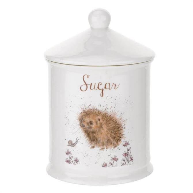 Royal Worcester Wrendale Hedgehog Sugar Jar
