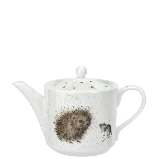 Royal Worcester Wrendale Hedgehog & Mice Teapot