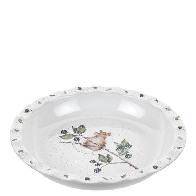 Royal Worcester Wrendale Mouse Pie Dish