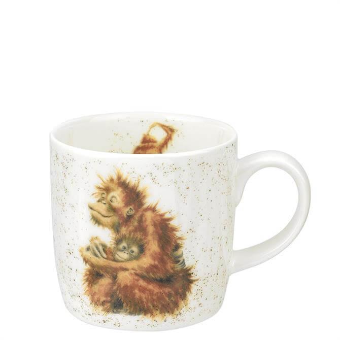 Royal Worcester Wrendale Orangutangle Mug