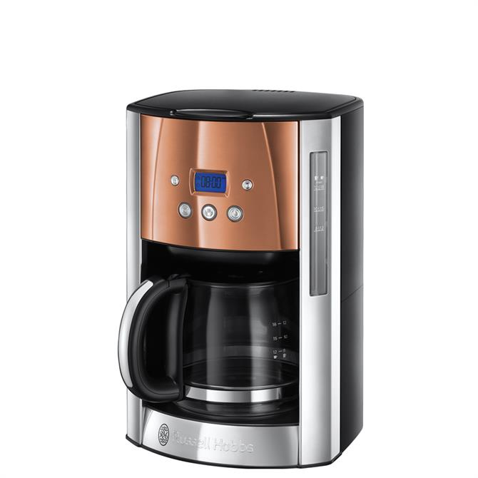 Russell Hobbs Luna Copper Accents Coffee Machine