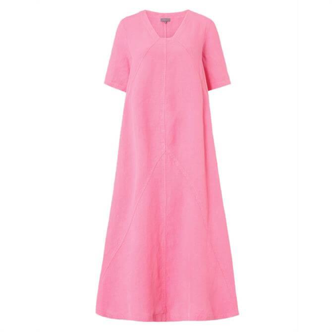 Sahara Panelled A-Line Linen Dress