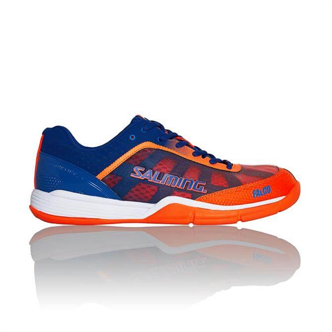 Salming Men's Falco Indoor Court Squash Shoe- Limoges Blue