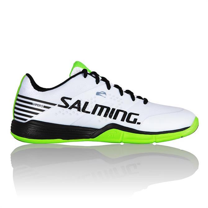 Salming Men's Viper 5 Squash Indoor Court Shoe- White