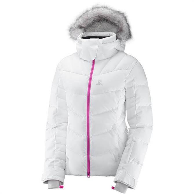 Salomon Women's Icetown Hooded Ski Jacket