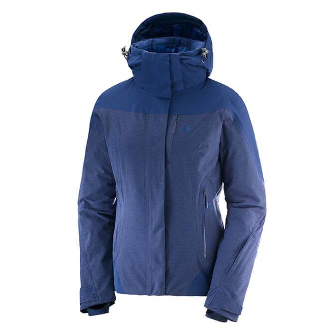 Salomon Women's IceRocket Jacket- Medieval Blue