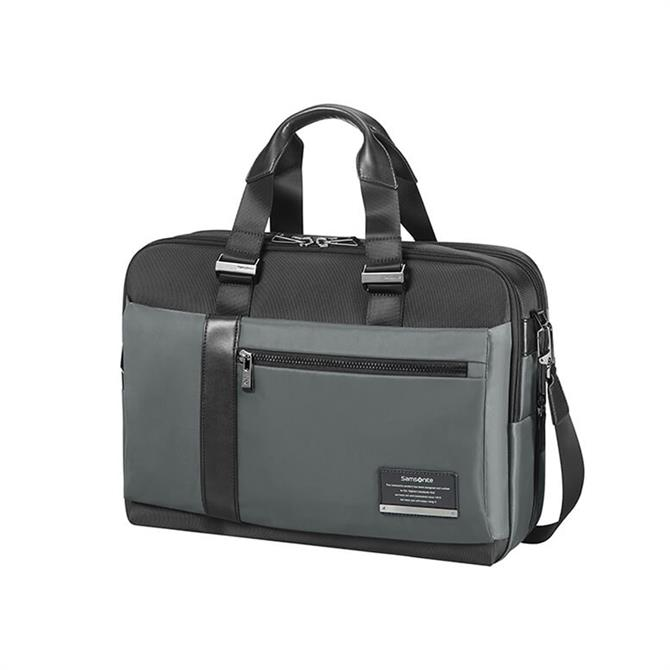 "Samsonite Openroad Bailhandle Briefcase 15.6"" - Eclipse Grey"