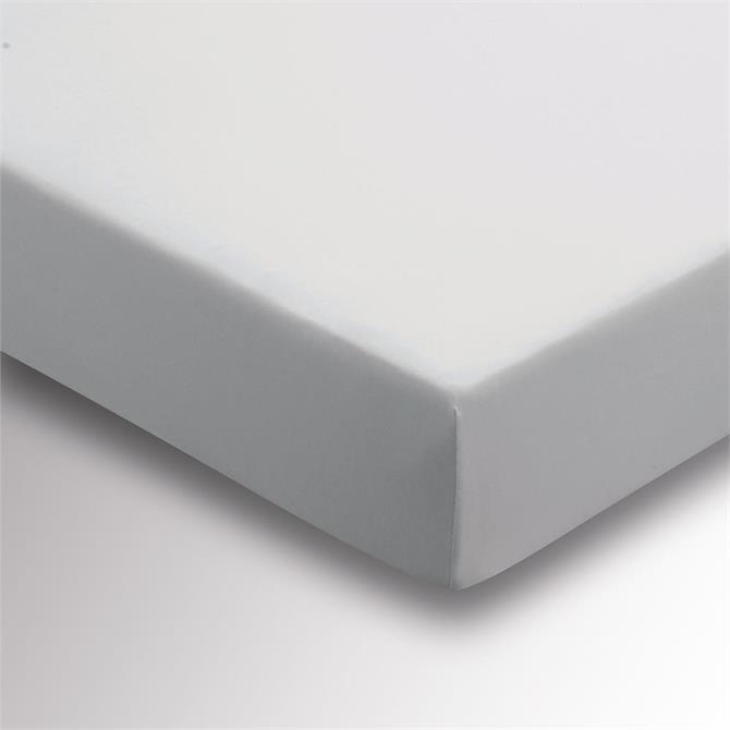 Sanderson Options Plain Dye Grey Fitted Sheet